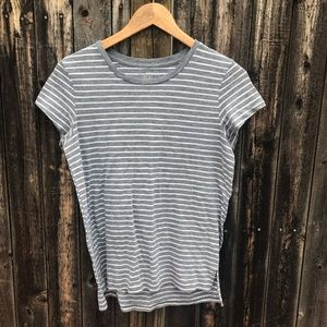 aerie striped real soft tee